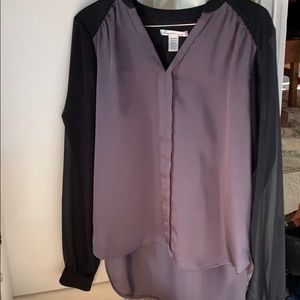 Kenneth Cole New York beautiful sheer shirt.